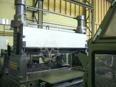 section shear with pinch roll unit for c