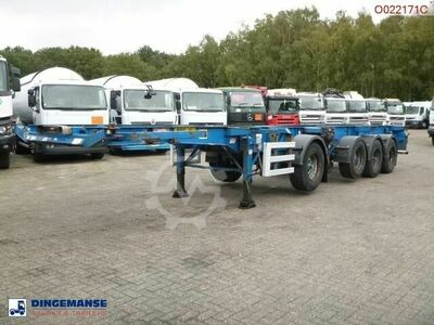 Sonstige/Other Dennison 4 axle container combi trailer (3 + 1 ax