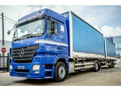 Mercedes-Benz ACTROS 1844 MP2 EURO 5 AANHANGER