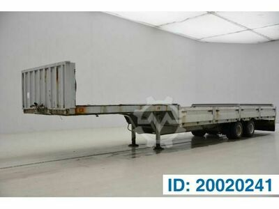 Sonstige/Other Titan Low bed trailer