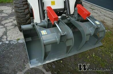 Industrial grapple - Bucket with clamp