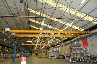 KoneCranes Single girder 13625 mm x 1 tonne