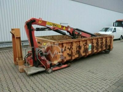 Palfinger PK 8000 Abrollcontainer PK 8000 Abroll Container