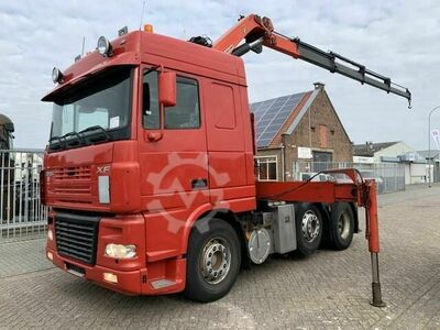 DAF FTG XF 95.430 6x2 euro 3 Manual gearbox with Palfi