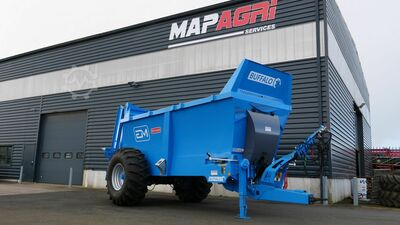 Heavy duty muck spreader