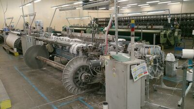 projectile loom with warp shaft - 3 pcs
