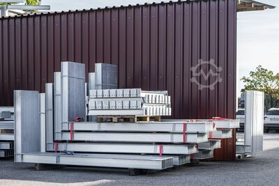 Cantilever racks used