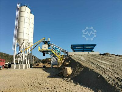 PROMAX Mobile Concrete Batching Plant M60-SNG