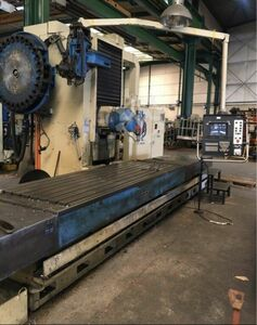 Fixed bed milling machine