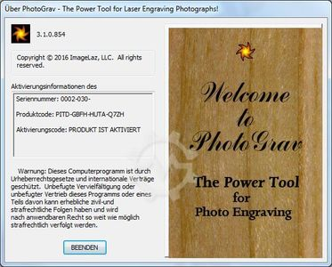 ImageLaz PhotoGraV Version 3.1