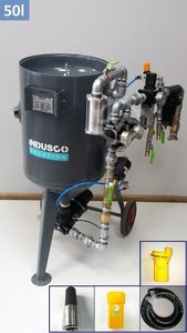Indusco Solution Soda blasting 50l