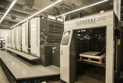 2016 Komori Lithrone GL 540H+C