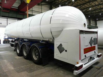 Tank Semi-Trailer CO2, Kuelendioxid