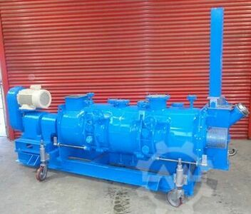 Continuous Jacketed Ploughshare Mixer