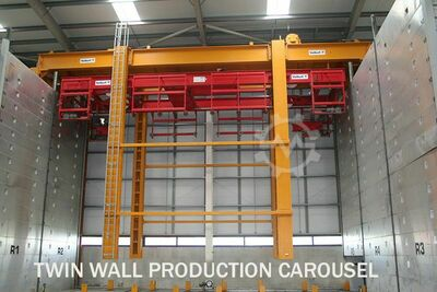 Twin-Wall Pallets Carrousel