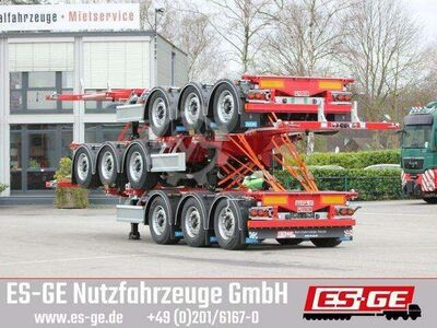 Sonstige/Other D TEC 3 Achs Containerchassis
