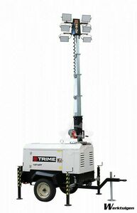Trime X-Start LED Mobile Kubota Lighting Pylon