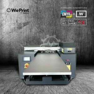 Impresora digital UV A2 Max King de 3 cabezales