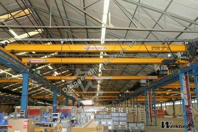 KoneCranes Single girder 7600 mm x 1 tonne