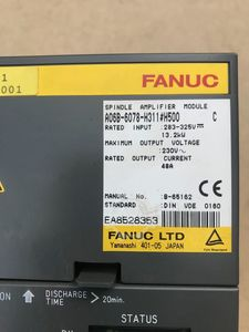 FANUC SPINDLE AMPLIFIER  A06B-6078-H311#H500