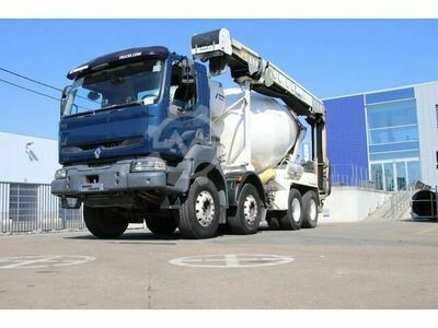 Renault KERAX 420 DCI+STETTER+Tapis/Band THEAM