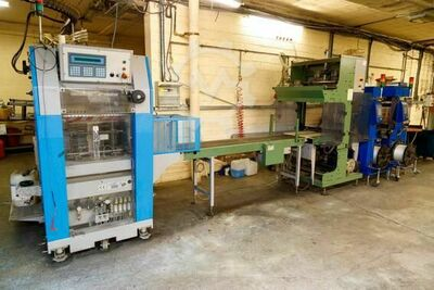Muller Martini ,Mosca Strapper  Forte Stacker,Pick Up Station,