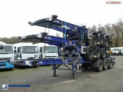 Sdc Stack 3 x Container trailer 20 30 40 45 ft (slid