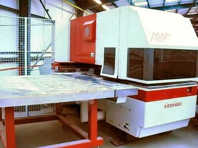 NISSHINBO MAP1000 CNC Turret Punch