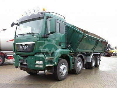 MAN TG S 35.480 8x4 BB 4 Achs Kipper