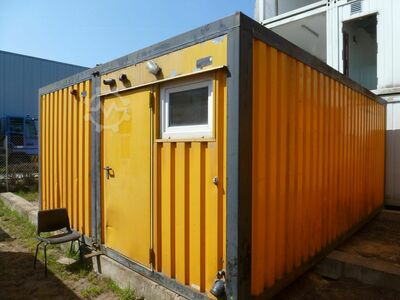 20' 2-fold living / office container