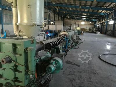 Complete  pipe machine