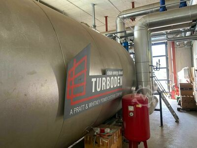 Biomass heating system VAS/ORC -Turboden
