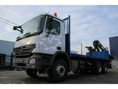 Mercedes-Benz ACTROS 2632 + HIAB XS 166 BS3 (Remote C.)