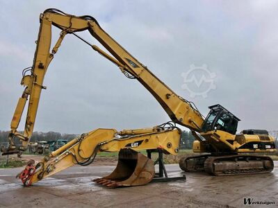 Caterpillar 330DL Demolition 21 meter boom
