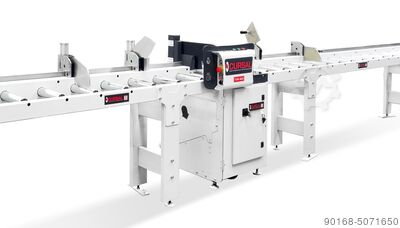 Semi automatic cross-cut saw
