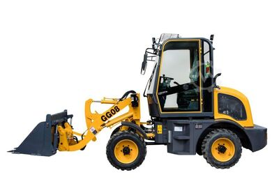 Gunter machine Loader 1000 kg laden