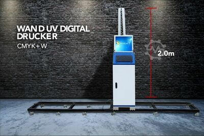 Wall Wall UV Digital Printer Direct 2.0m