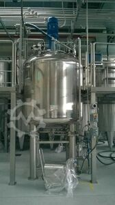 Mixer 3 m³ for disinfectant
