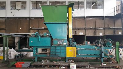 Horisontel Baling Press