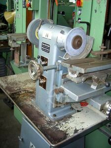 Tool-lapping and grinding machine
