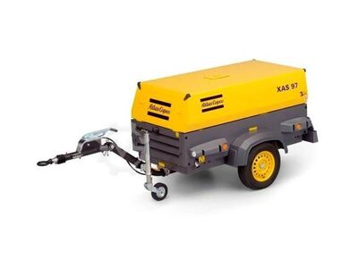Atlas-Copco XAS 97 DD - N WHEELS NEW