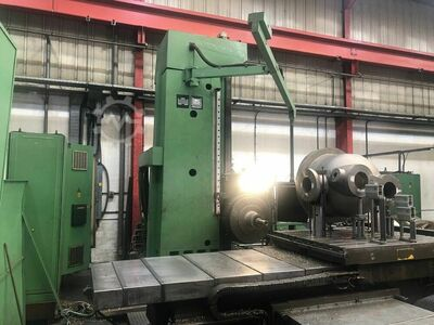 UNION BFT110 NC 5 Axis CNC Horizontal Borer with Heidenhain TNC 355 Control. 110mm spindle diameter