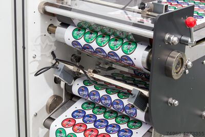 Label Finishing Machine