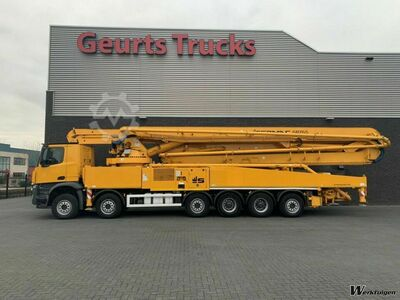 Mercedes-Benz AROCS 6051 12X4 WITH SERMAC 6 RZ 65 METER PUMP