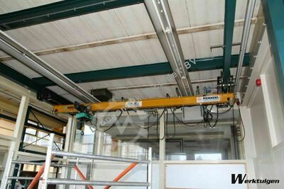 Verlinde single girder undercarriage crane 4110 mm x 500