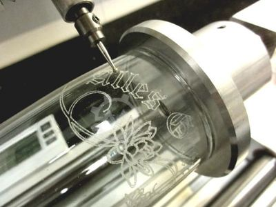 Granite+Glass engraving machine engraver