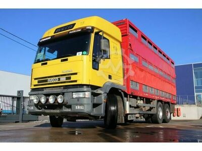 Iveco EUROTECH 380 6X2 BETAILLERE DOUBLE ETAGE