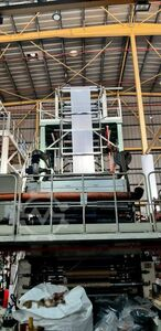 Blow extrusion line Macchi 3 layers