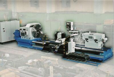 heavy duty lathe CNC after GO -2021