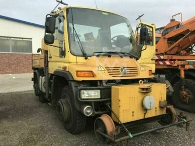 Unimog U 400 Road and Rail